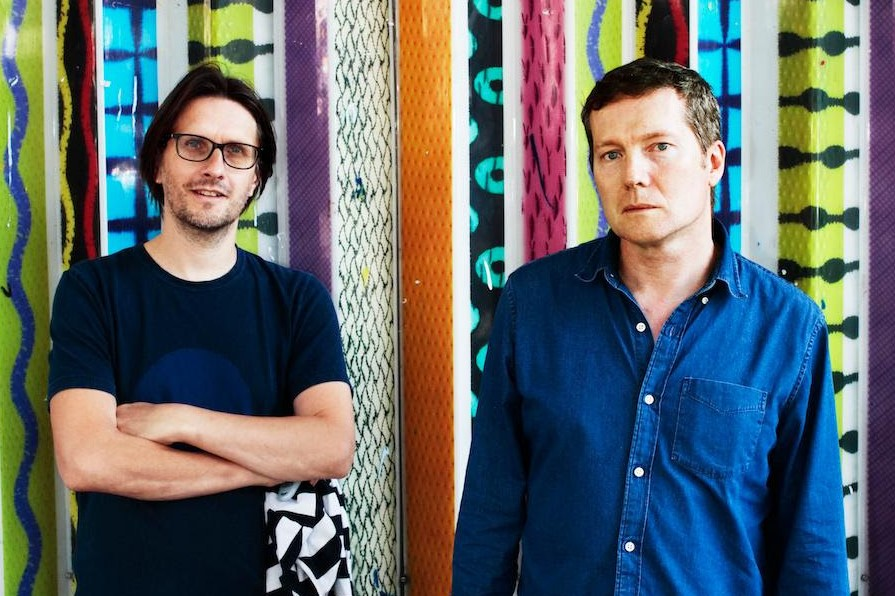 Steven Wilson and Tim Bowness of No-Man