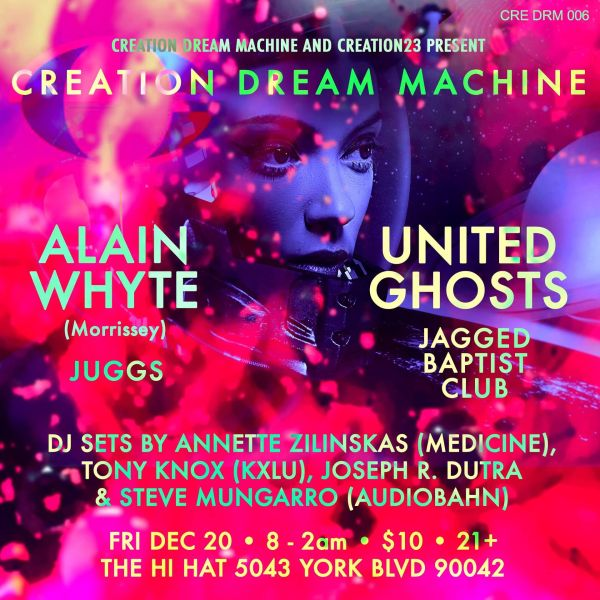 Creation Dream Machine poster