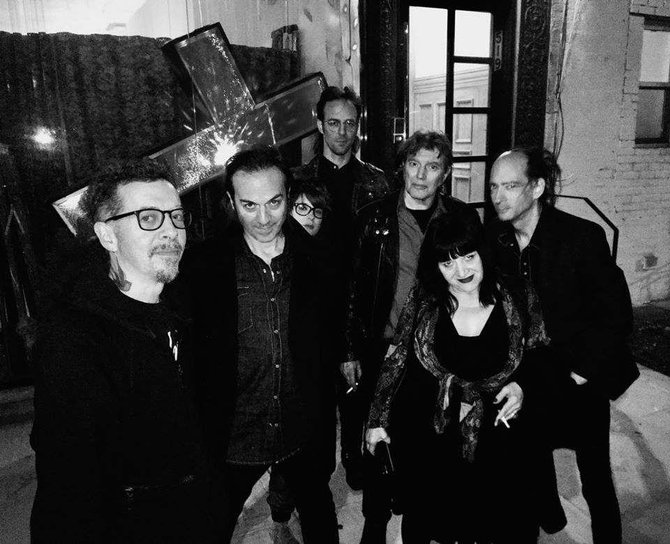 photo credit 'Art Grey Noizz Quintet with Lydia Lunch, photo by Julie Hair'