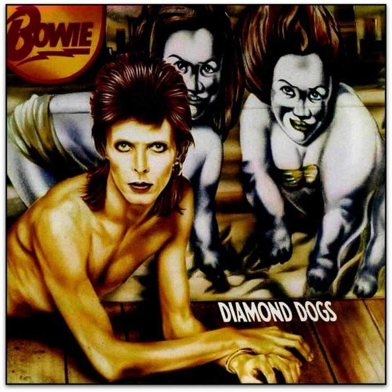 David Bowie Diamond Dogs album cover
