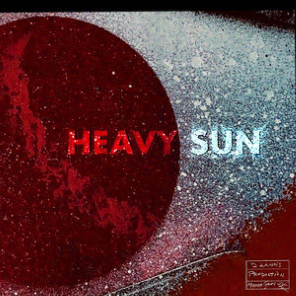Daniel Lanois Heavy Sun cover art