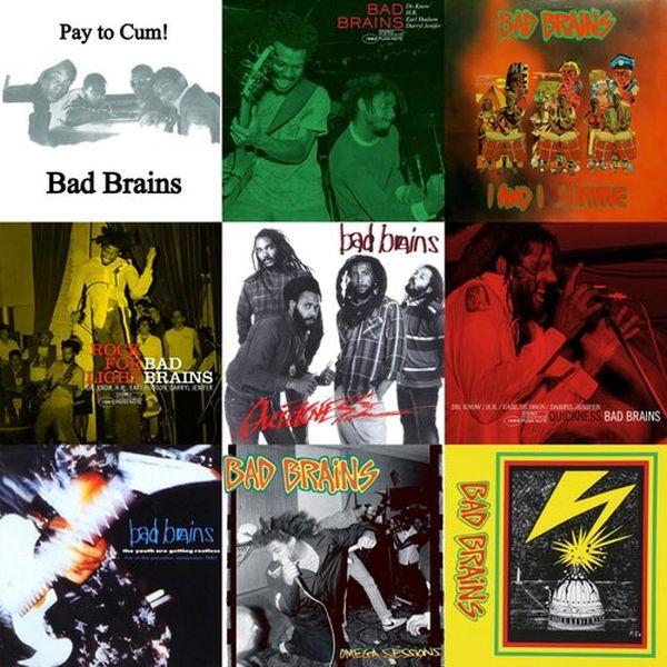 Bad Brains - 9 LPs