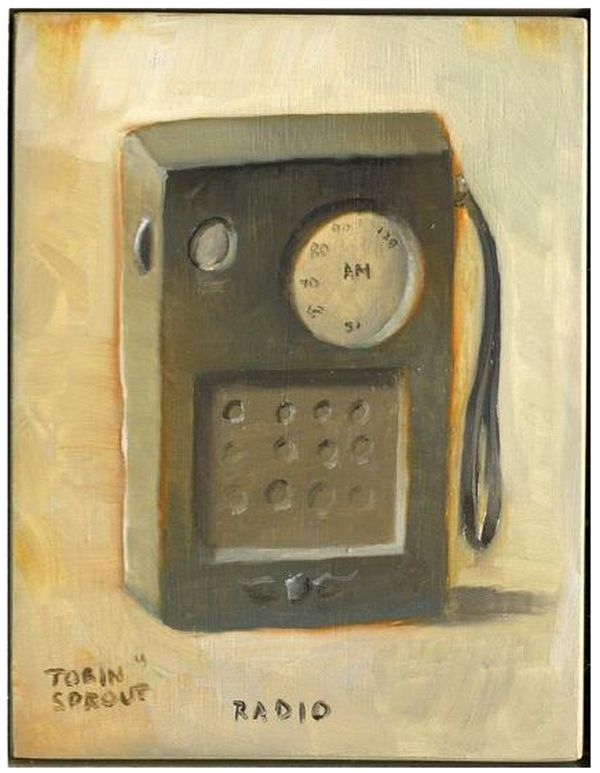 Tobin Sprout - Radio painting