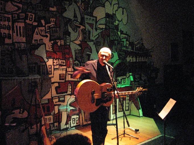 Graham Parker @ Steel City Coffeehouse 4/29/06